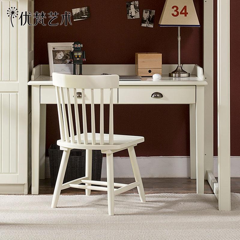 优梵艺术uvanteen美式实木书桌153611K