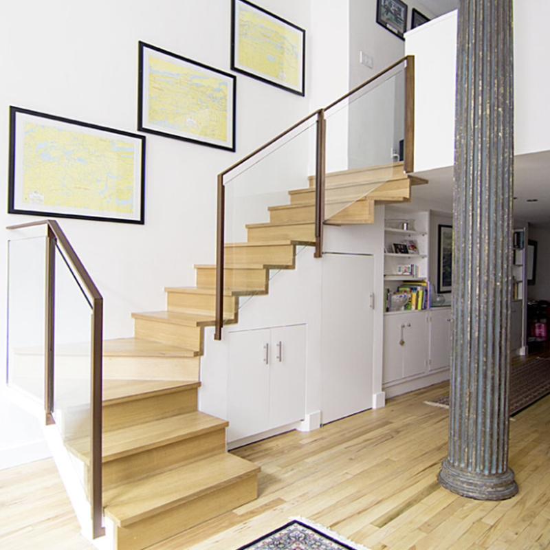 楼尚公馆玻璃楼梯20150511002