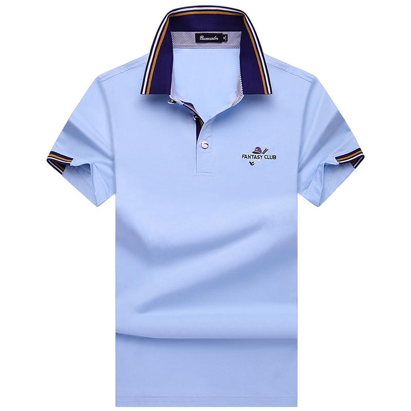 伯思凯短袖T恤 夏装新款男士翻领纯色短袖T恤商务POLO衫