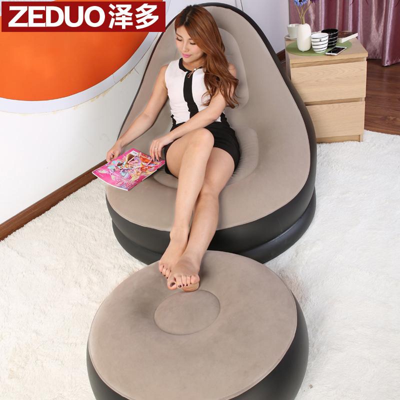 泽多单人充气沙发床070105
