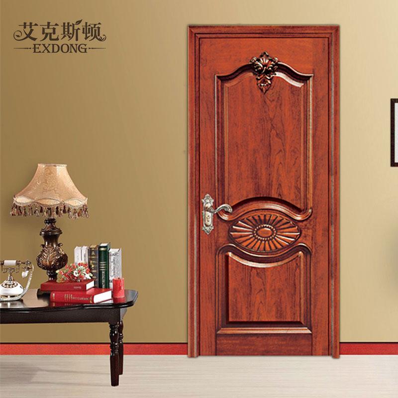 艾克斯顿室内门门烤漆原木实木门ym032