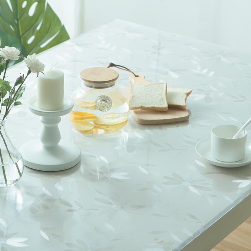 锦色华年pvc软质玻璃餐桌布ZB1070
