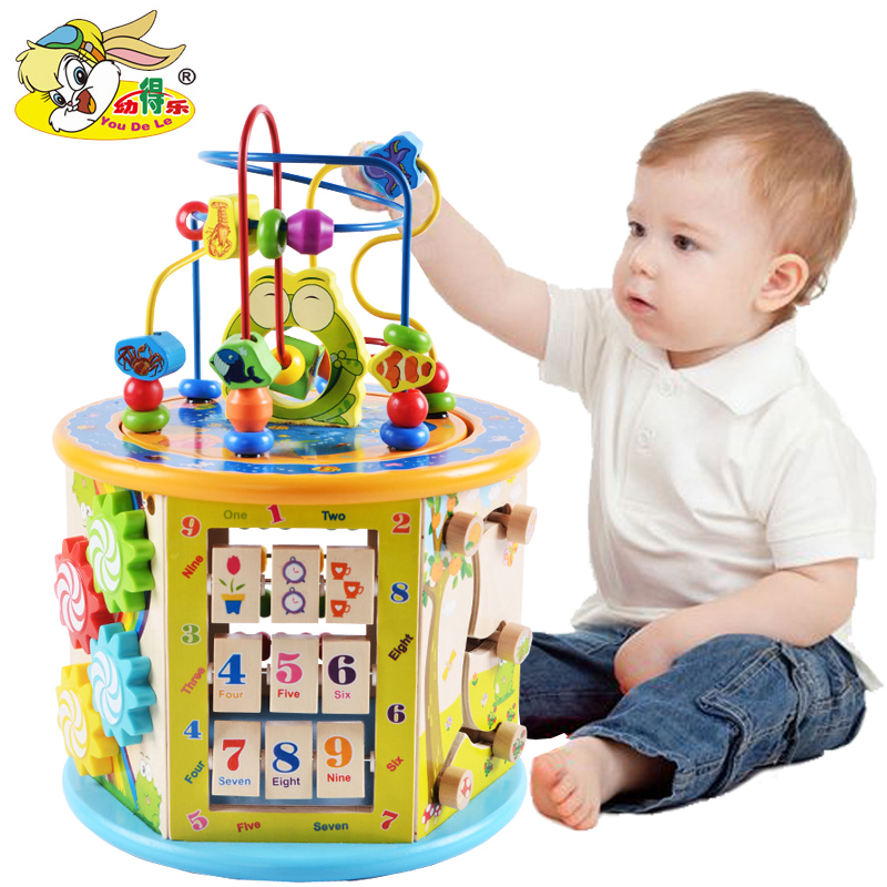 Toys For 0 2 Years Old : Children s building block toys year old baby boy