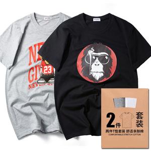 纯棉短袖t恤大码120斤-280