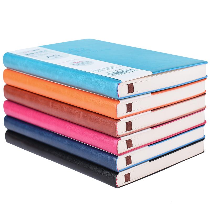 正彩A5印花软皮本皮面笔记本