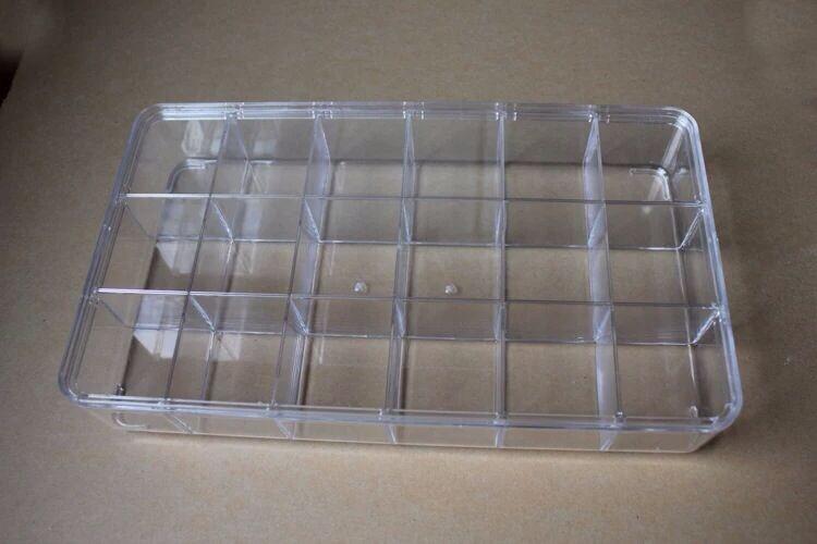 Шкатулка для украшений Полноценное прозрачные акриловые бусины DIY аксессуары хранения коробке 18 производителей оптом цена