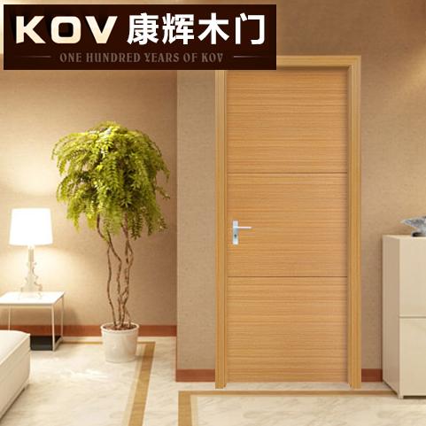 康辉免漆木门卧室门-10