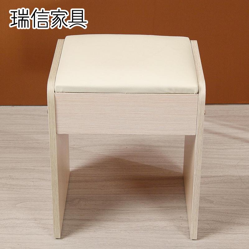 瑞信家具白色化妆凳简约梳妆凳小化妆椅101