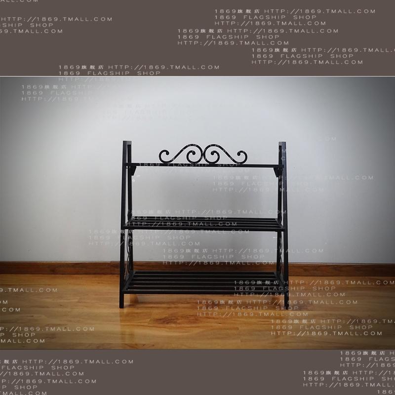 1869欧式多层铁艺置物鞋架HJ-001
