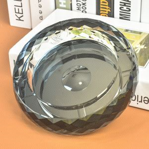 水晶烟灰缸 时尚创意个性礼品 大号精品欧式烟缸 <span class=H>居家</span><span class=H>日用</span>品