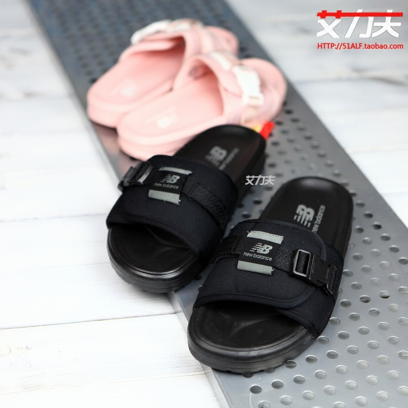 47130ff9e679bf ... Eric NEW BALANCE NB Men s and women s shoes sandals lovers beach shoes  casual slippers SD2152BK