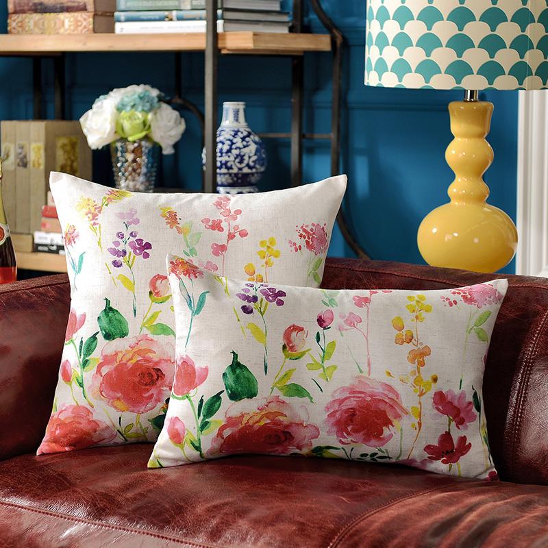 w奇居良品沙发床枕套BZ0115