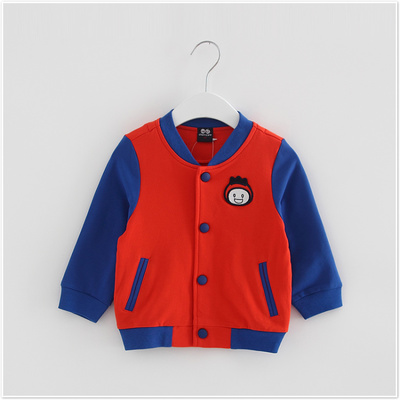 (Three 30% off) Children's clothing brand discount spring boy baby sweater coat baseball uniform 51505896