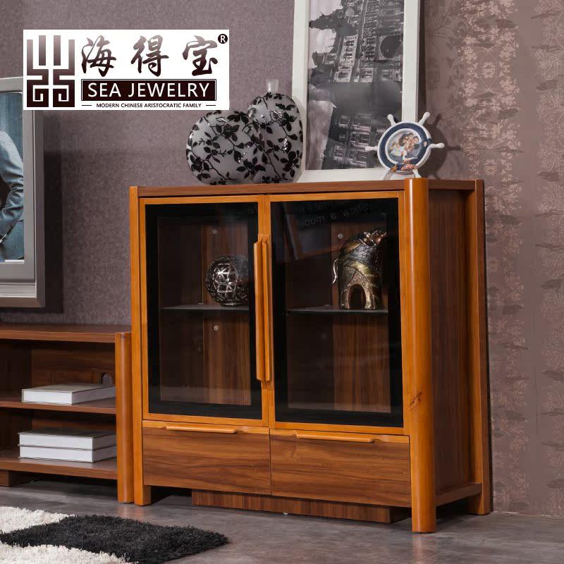 海得宝实木储物柜6507
