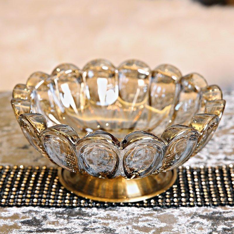 凯斯黛尔创意玻璃装饰小水果盘dd