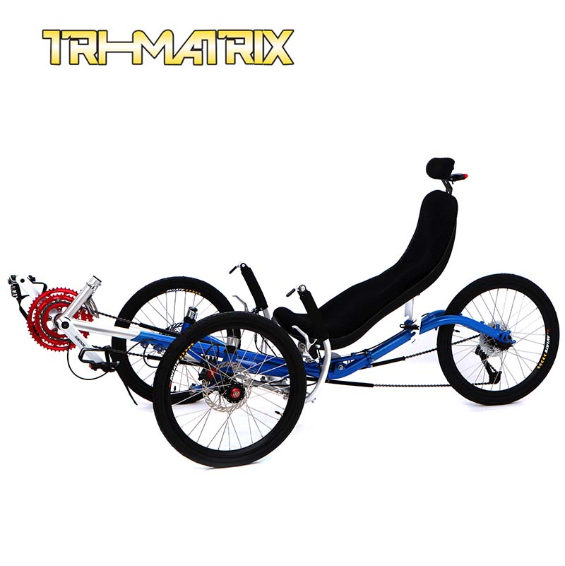 Лежачий велосипед Tri/matrix 20 TRIDENTTRIKES Transport20