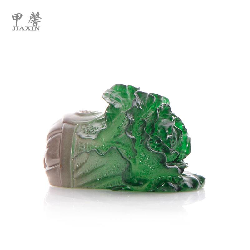 甲馨茶具丰收大白菜变色茶宠