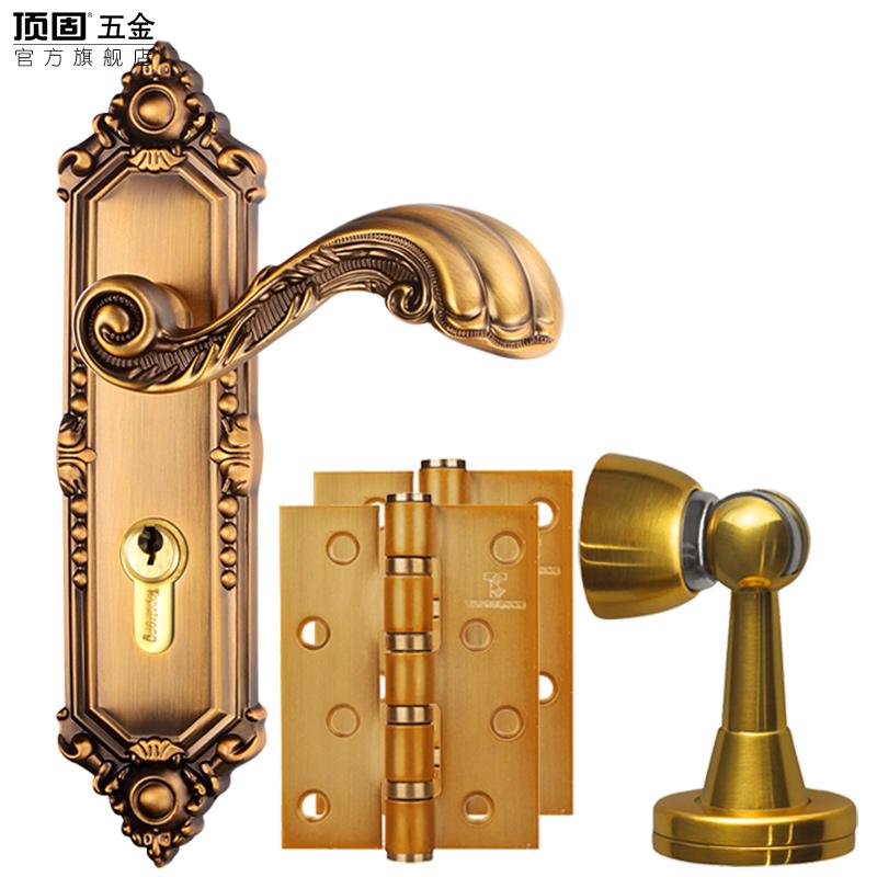 顶固欧式门锁EZL811602套装