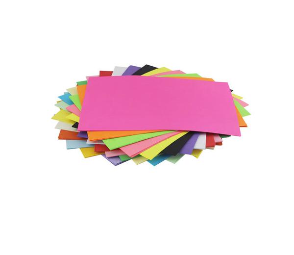 彩色a4纸复印打印纸 粉红色 80G 手工折纸 彩色纸A4 100张 十色纸