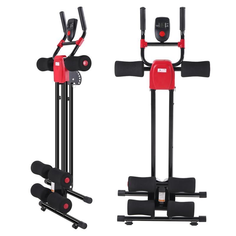 美腰机过山车收腹机A4收腹器腹部运动健身器材家用女锻炼腹肌训练