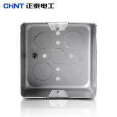 Электромонтажная металлическая коробка Chnt 100*100*60