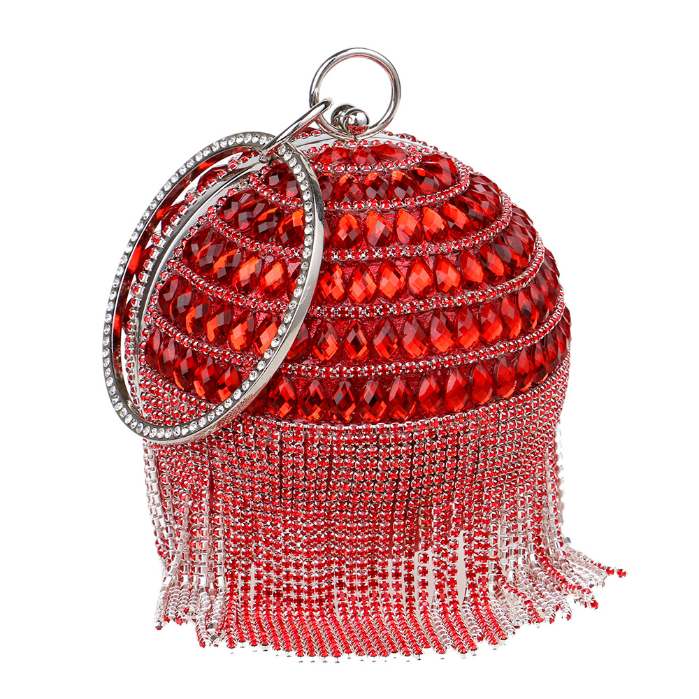 new_goods/Yingmi fashion exquisite tassels portable female bag sociali...