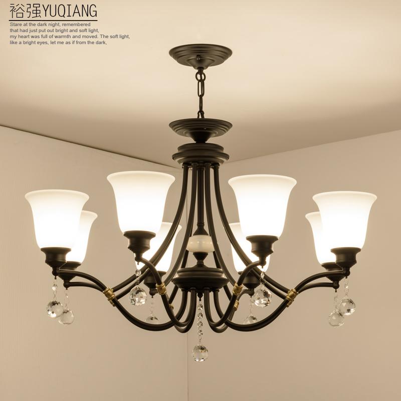 裕强美式主房间吊顶灯YQ8002