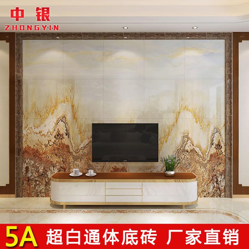中银微晶石瓷砖童年中式装饰壁画