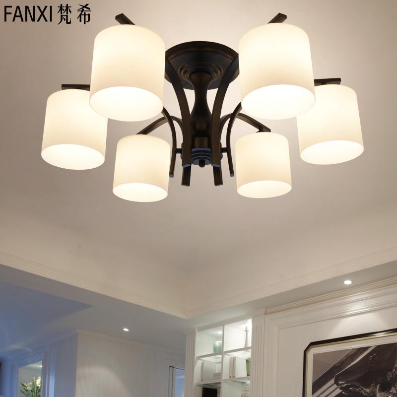 北欧吸顶灯具现代简约客厅灯饰大气家用欧式美式大厅卧室房间大灯