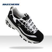 Skechers斯凯奇明星同款潮鞋 D'lites男女鞋黑白熊猫款99999720