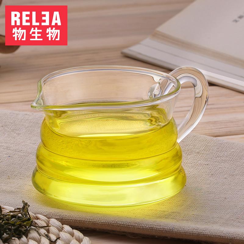 物生物茶具耐热玻璃茶海公杯过滤
