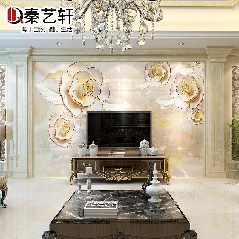 秦艺轩瓷砖3d雕刻墙砖
