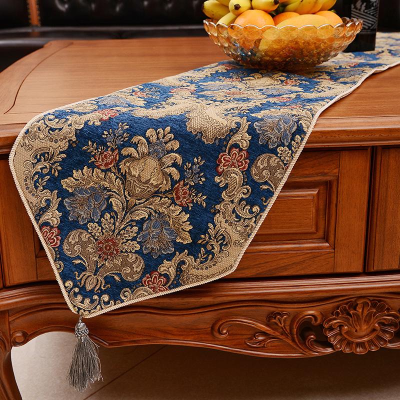 雅典娜欧式餐桌布西雅图桌旗