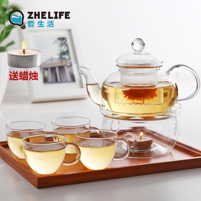 哲生活耐热四合一玻璃茶具CJ003