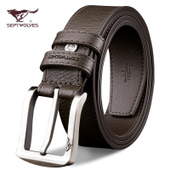 Septwolves Men's Leather Belt