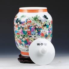 Декоративная банка Ding congregation ceramic Bai