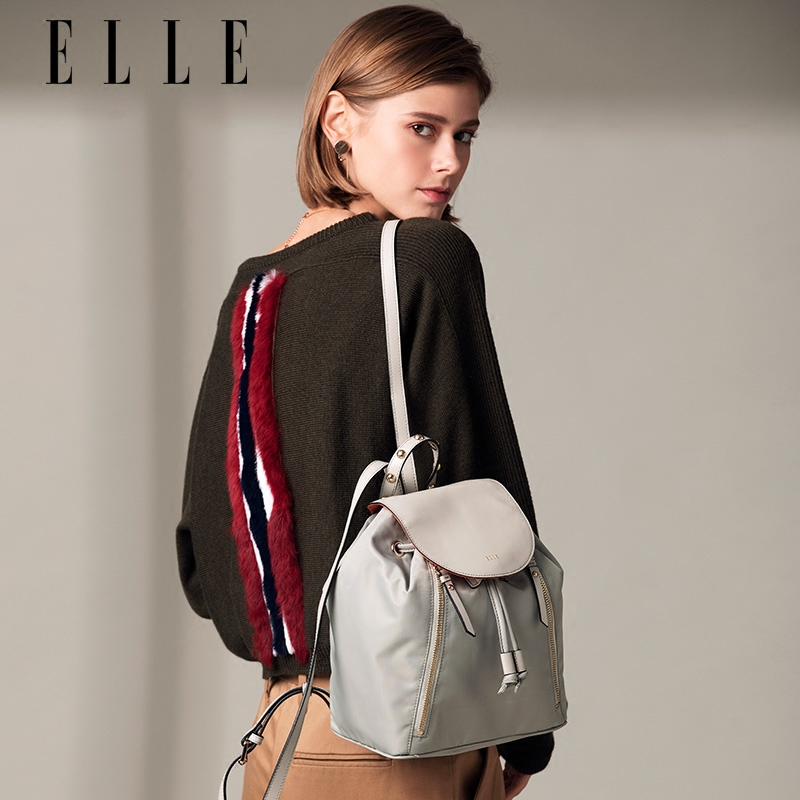 ELLE女包包80250双肩背包手提旅行包包