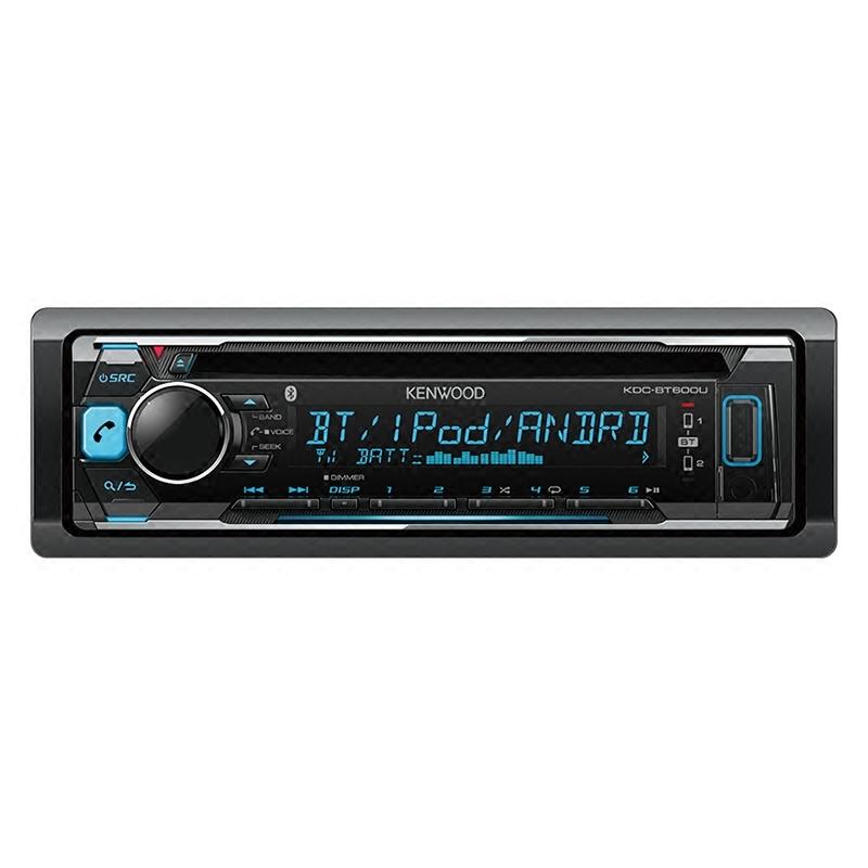 建伍KDC-BT600U 汽车音响CD播放机蓝牙车载CD机无损播放器改装机