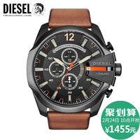 【香港直邮】Diesel/迪赛三眼计时码时尚石英男腕表 DZ4343