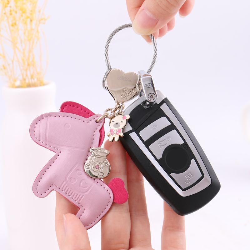 すぐに金持ちの鍵は女性のアイデアの簡単な車の鍵のペンダントの高級な韓国のキーホルダーのかわいい輪の輪を掛けます,タオバオ代行-代行奈々