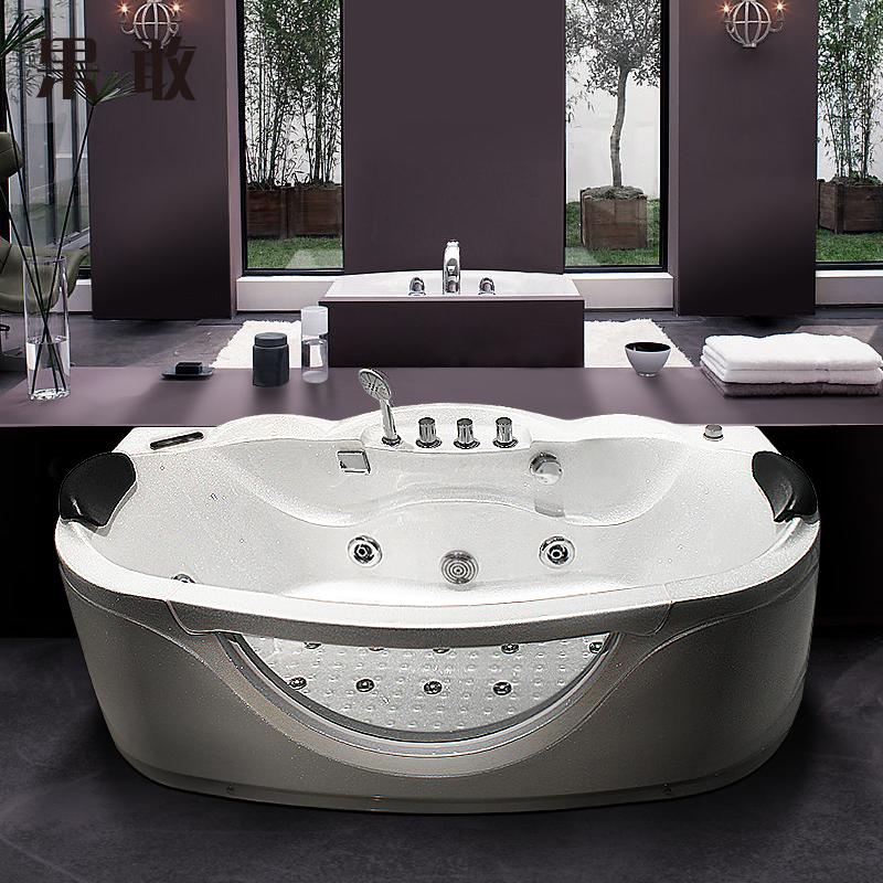 果敢双人浴缸亚克力浴盆Z831