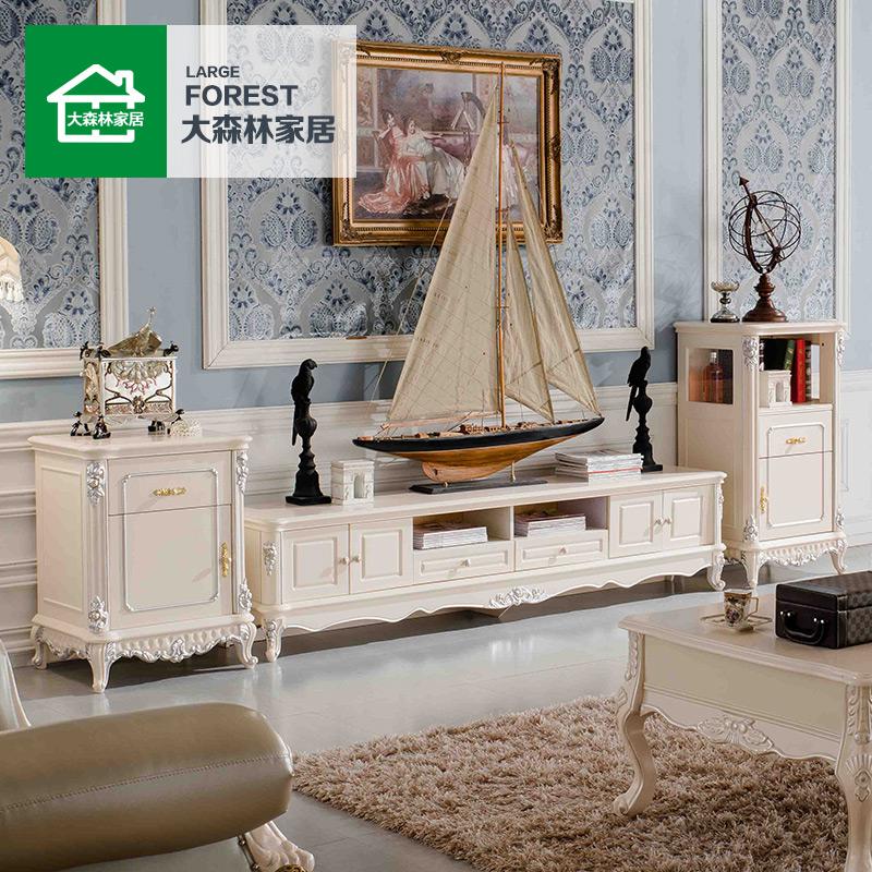 大森林家具欧式玻璃装饰柜A835-A836