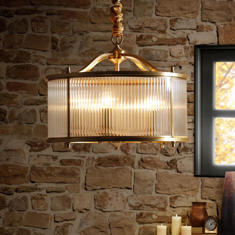 凯乔美式铜灯全铜吊灯 YD019