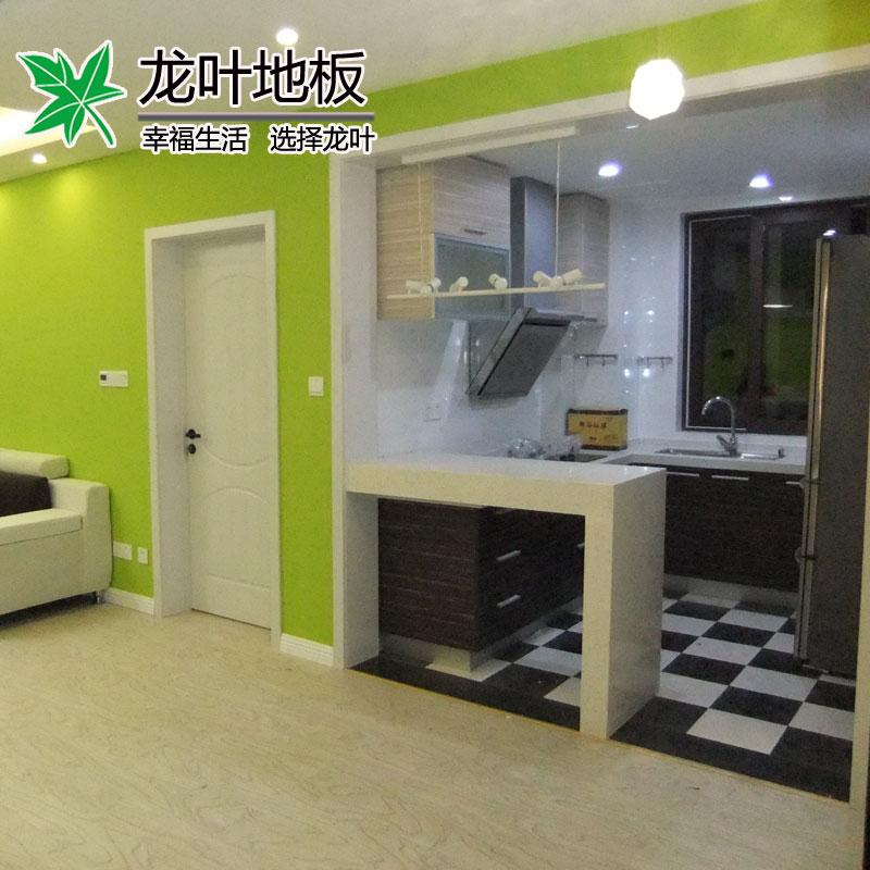 龙叶云南白枫木2850实木复合地板
