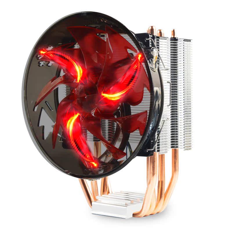 长祺 冰暴400-800 amd intel 多平台 台式机电脑cpu散热器风扇