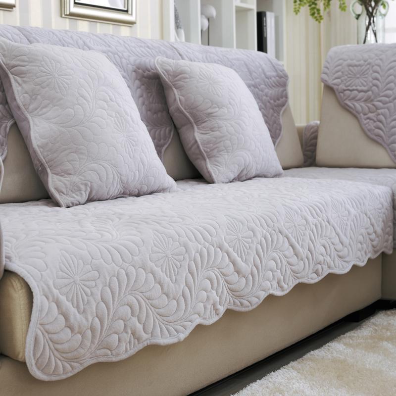 尚罗兰短毛绒沙发垫SLL01