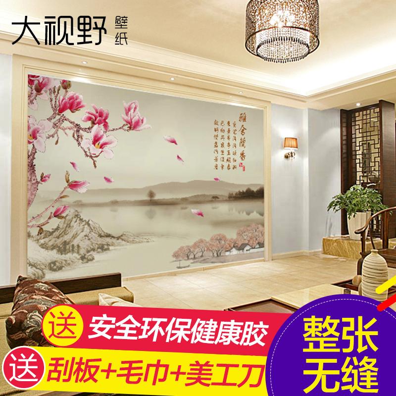 大视野现代中式墙纸15012835