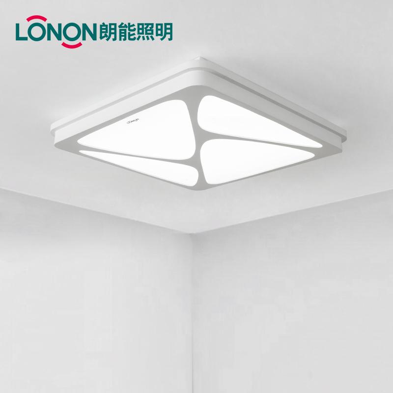 朗能简约现代正长方形吸顶灯LN-XP08