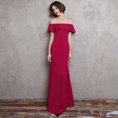 Evening dress Rose yarn mgs0210 2017
