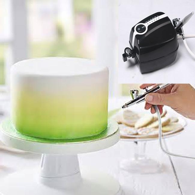 Аэрограф для покраски тортов